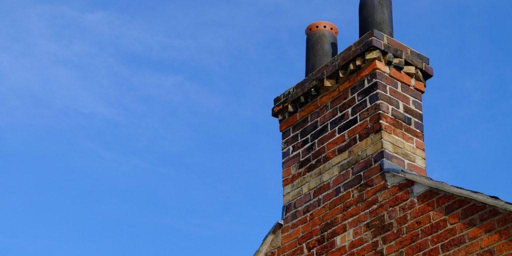chimney-blue-sky