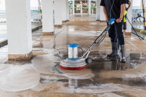 ensure your commercial property remains in good condition by power washing them