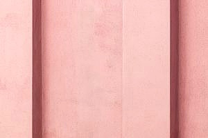 pink repaired stucco wall mixture