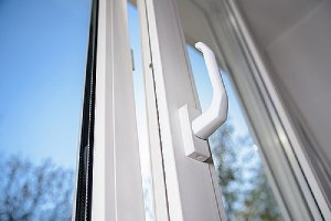 Slightly open window. Cool air leaks can cause the conditioned air to leave the home