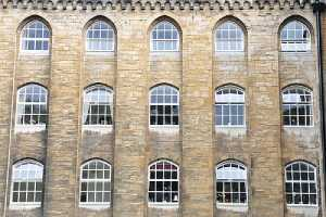 View of a Victorian era building. Masonry restoration on a historic building is a complicated job