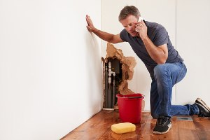 A home owner seeking for help. Waterproofing your home can be surprisingly beneficial