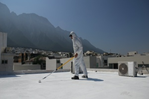 Waterproofing Contractor being used to make sure water does not get into building