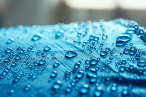 water drops before using a waterproofing contractor