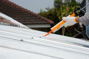 a roof having services of caulking services in delaware