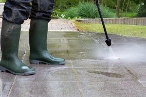 outdoor floor cleaning with high pressure water jet for Commercial Pressure Washing Services