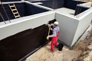Commercial Waterproofing Services surface of new building